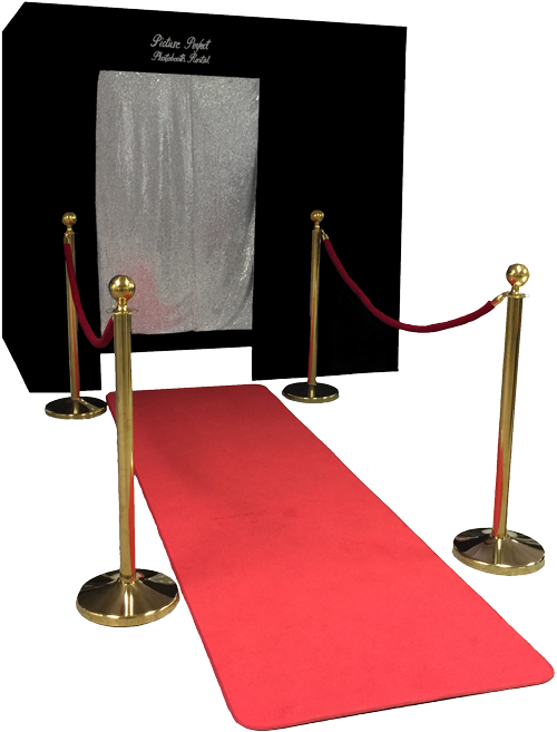 The Big Black Photo Booth. This photo booth is our most popular photo booth and is our standard booth option.
